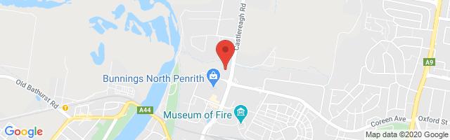 Heartland MG - Penrith Map