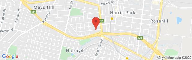 Parramatta MG - Granville Map