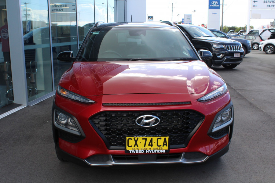 2017 MY18 Hyundai Kona OS Launch Edition Suv