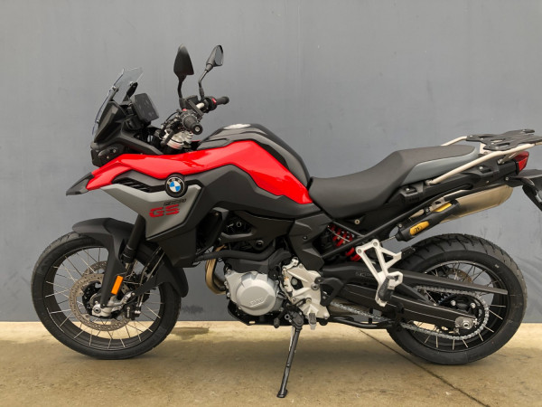 2019 BMW F850GS Racing Red Motorcycle