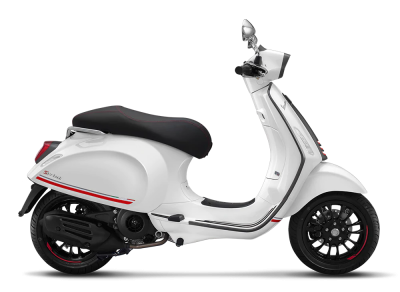 New Vespa Sprint Carbon 150