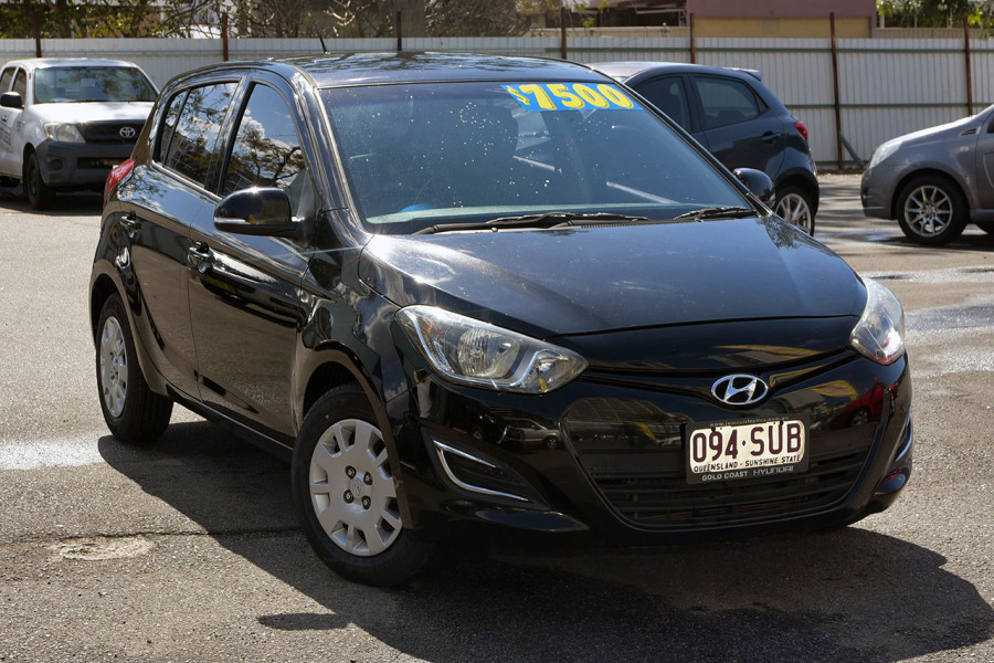 2012 Hyundai I20 PB MY12 Active Hatchback Mobile Image 1