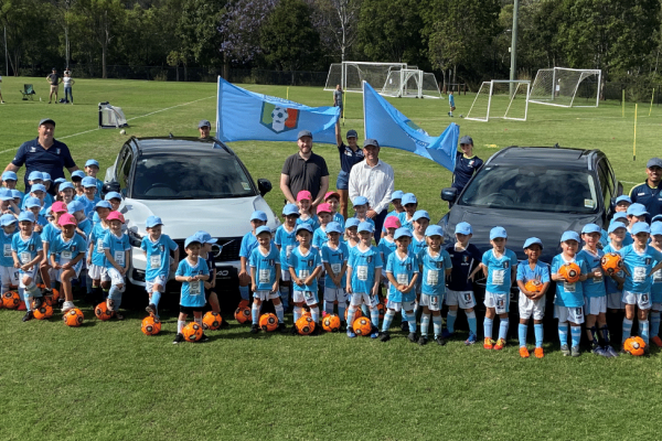 Volvo Cars Brisbane North re-sign with Brisbane City FC as Diamond Sponsors for the third year running.