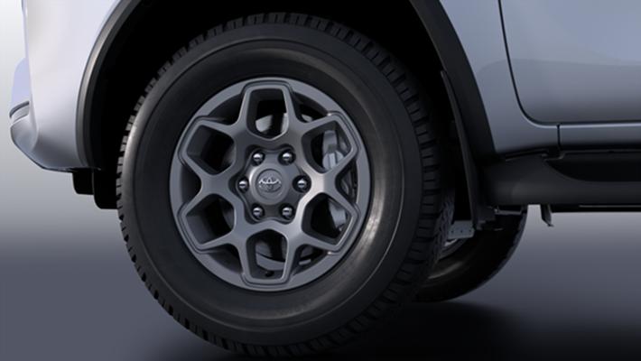 "17"" Alloy Wheels - Machined Grey"