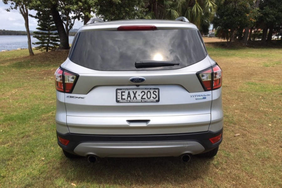 2018 MY18.75 Ford Escape ZG Titanium AWD Sedan