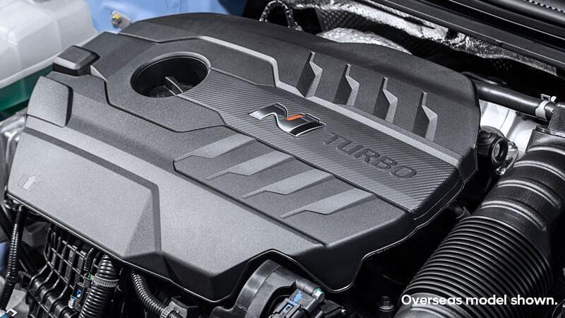 New 2.0L turbo power. Image