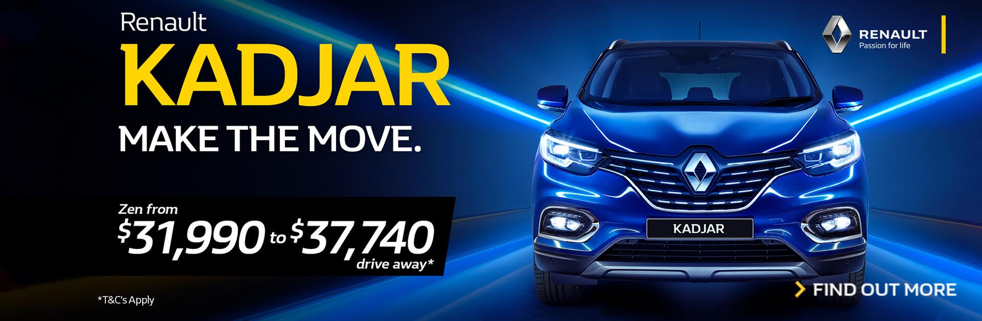 Renault Kadjar - Make the Move