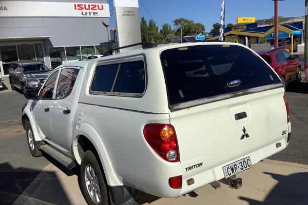 2014 Mitsubishi Triton MN MY15 GLX Utility