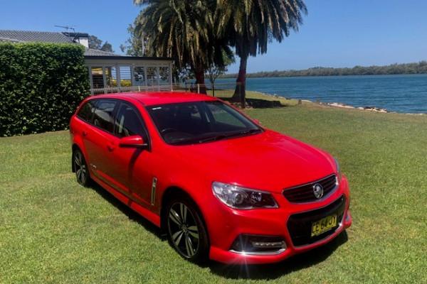 2015 Holden Commodore VF MY15 SV6 Wagon Image 2
