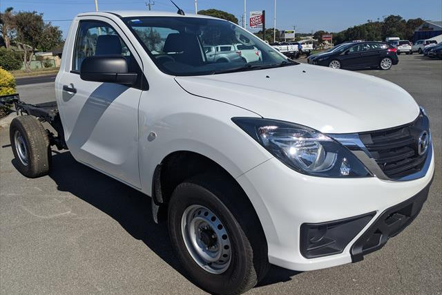 2018 Mazda BT-50 UR 4x2 2.2L Single Cab Chassis XT Other Image 3