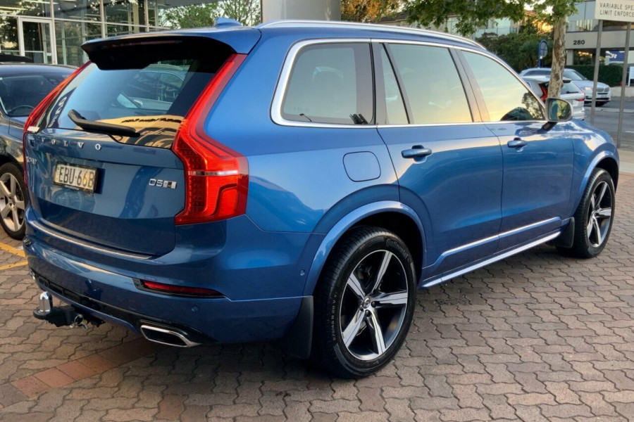 2018 MY19 Volvo XC90 256 MY19 D5 R-Design (AWD) Suv Mobile Image 4