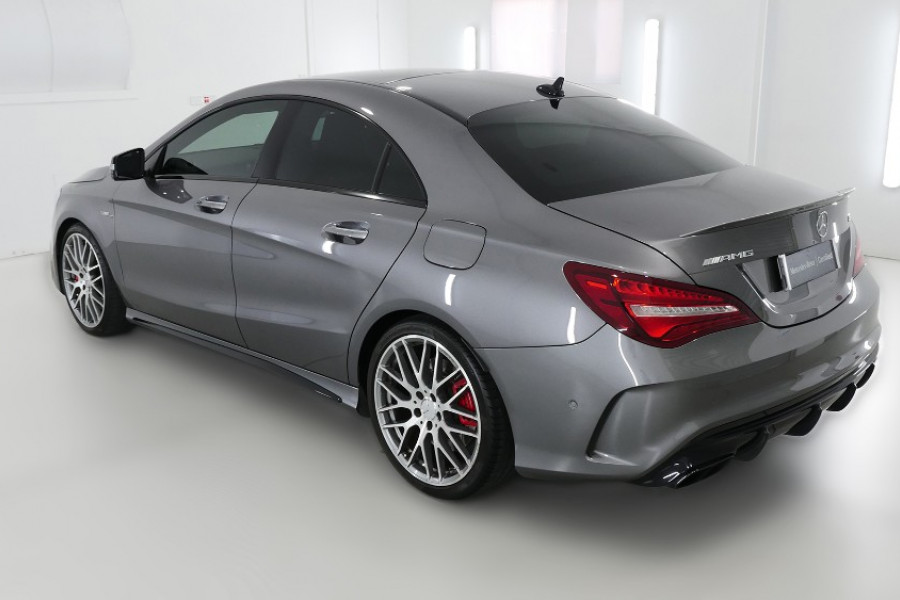 2017 MY07 Mercedes-Benz Cla-class C117 807MY CLA45 AMG Coupe