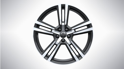 "20"" 5-Double Spoke Tech Black Diamond Cut - 1011"