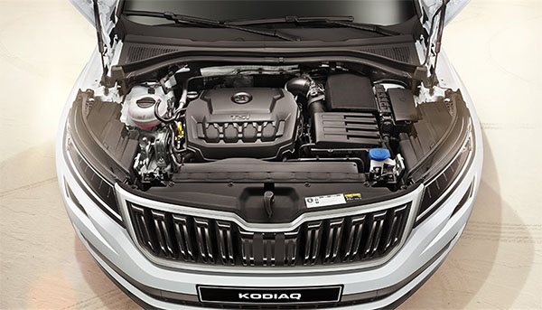 Kodiaq Turbocharged Engine