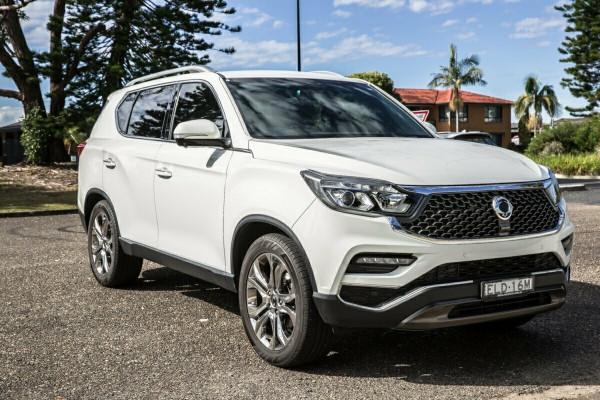 2020 SsangYong Rexton Y400  Ultimate Suv Image 2