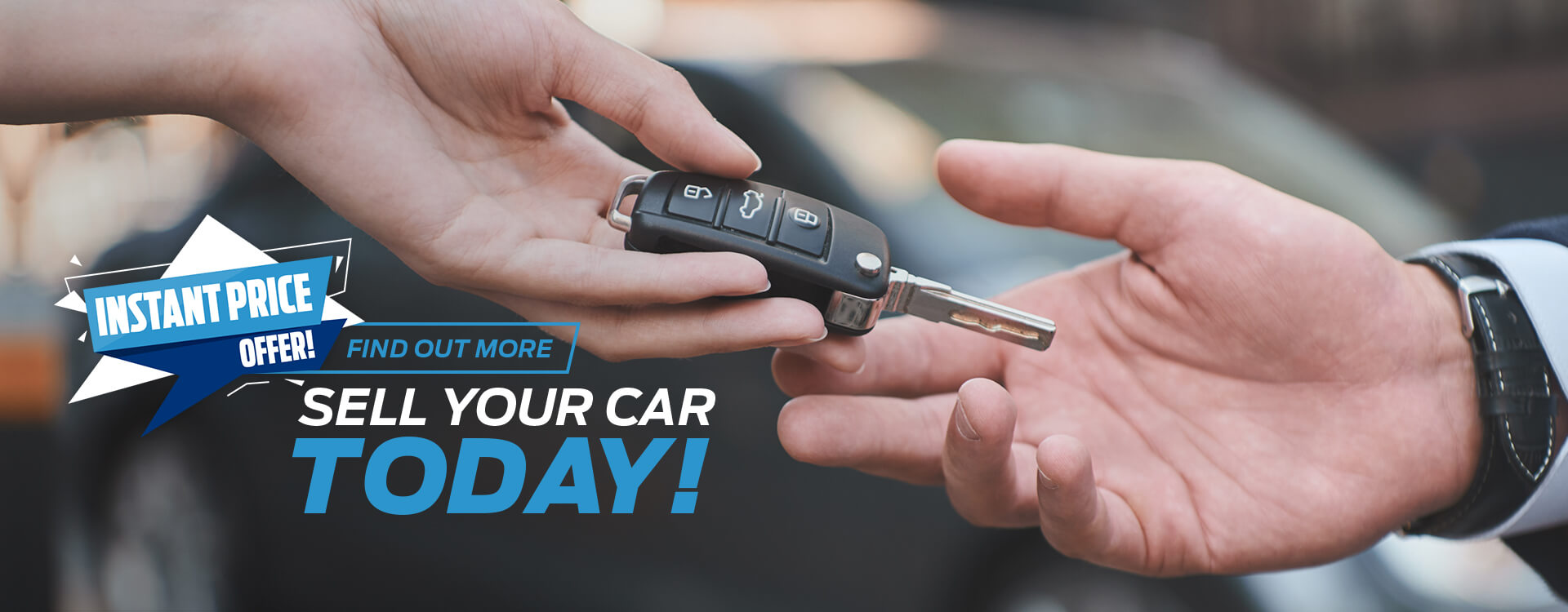 Instant Price Offer! Sell your car today!