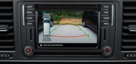 Multivan Park Distance Control Rear and Rear View Camera