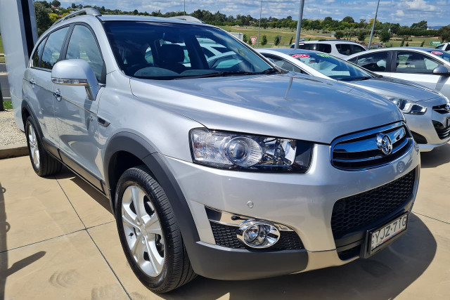 2013 Holden Captiva CG Turbo 7 LX Suv