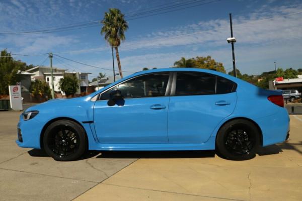 2015 MY16 Subaru WRX V1 MY16 Hyper Blue Lineartronic AWD Sedan Image 4