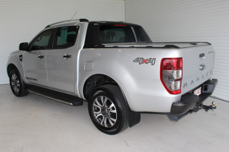 2017 Ford Ranger PX MkII 4x4 Wildtrak Double Cab Pickup 3.2L Utility Image 4