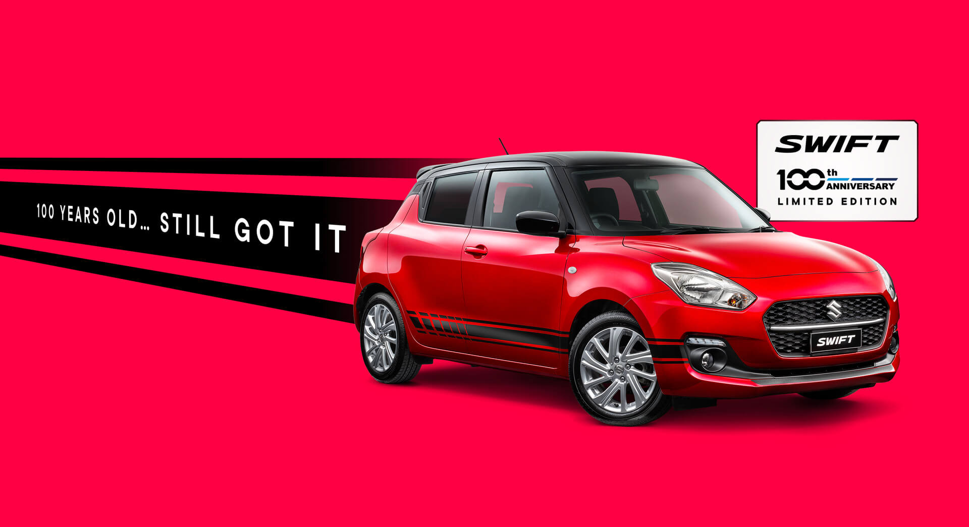 Suzuki Swift 100th Anniversary Limited Edition