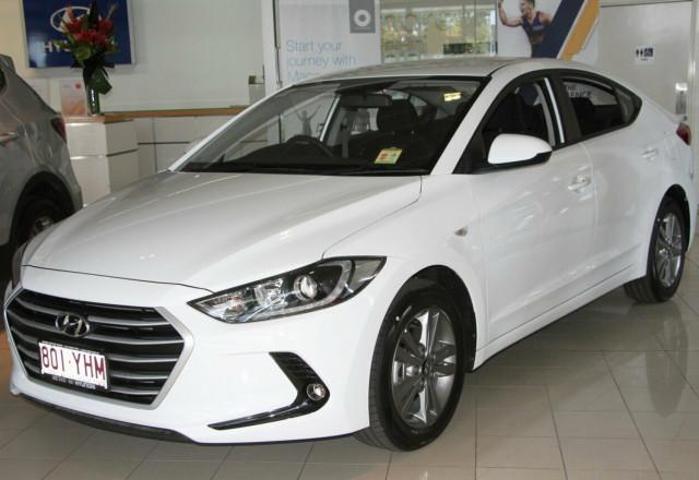 2017 MY18 Hyundai Elantra AD Active Sedan