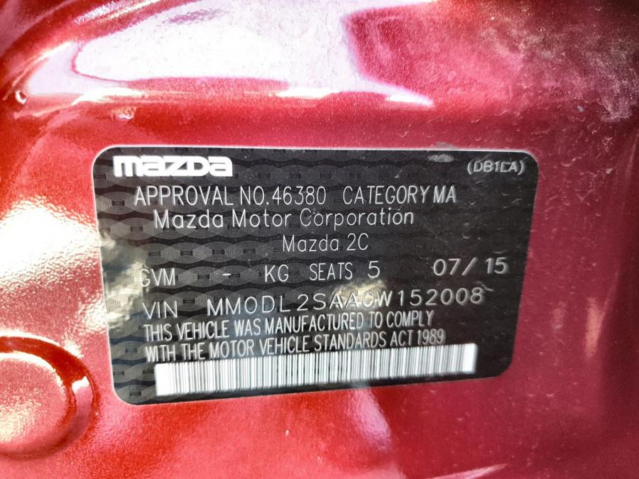 2015 Mazda 2 DL2SAA Maxx Sedan Image 15