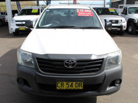 2012 Toyota HiLux TGN16R  Workmate Utility - dual cab