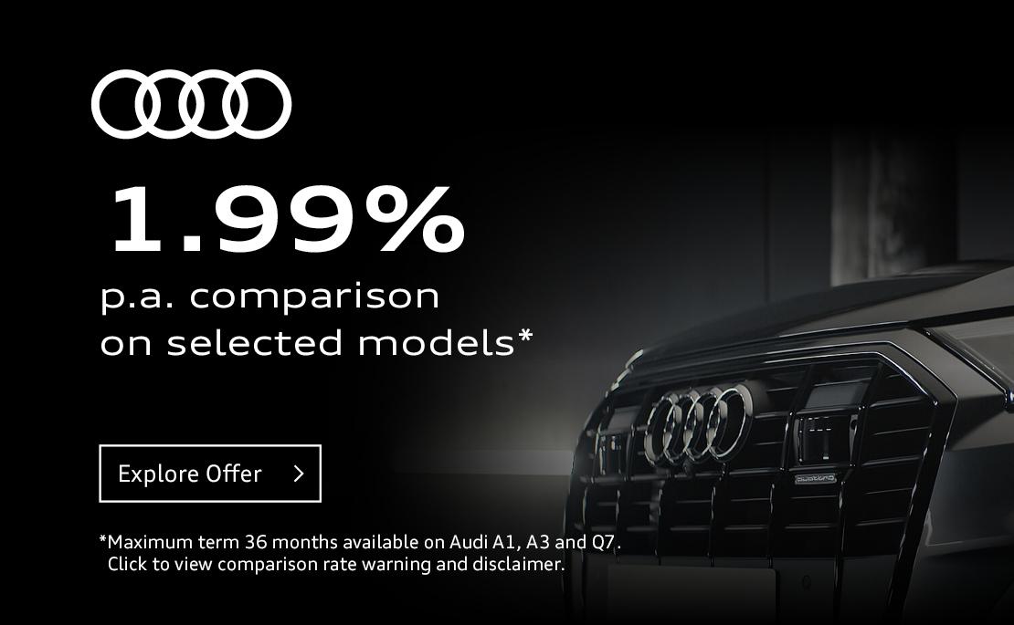 Audi Centre South Brisbane - 1.99% p.a. Finance