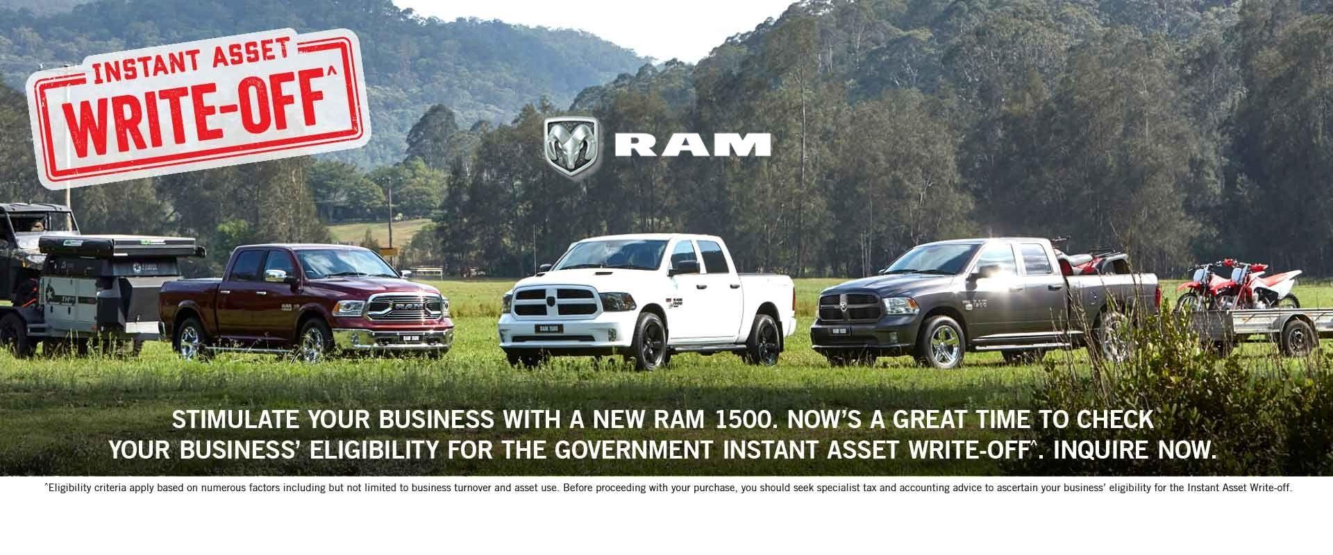 Ram Trucks Queensland