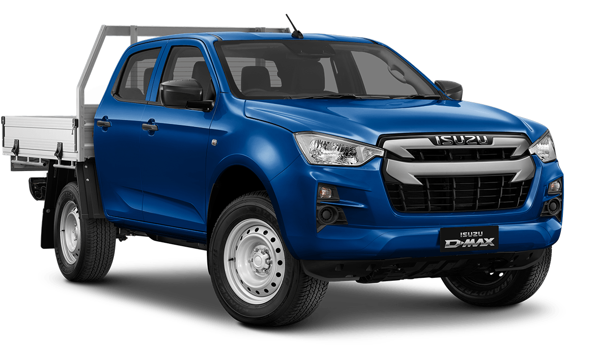 2020 MY21 Isuzu UTE D-MAX SX 4x4 Crew Cab Chassis Cab chassis