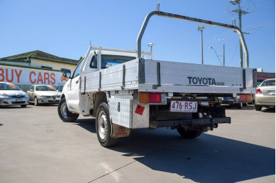 2011 Toyota HiLux TGN16R MY10 Workmate Cab chassis Image 4