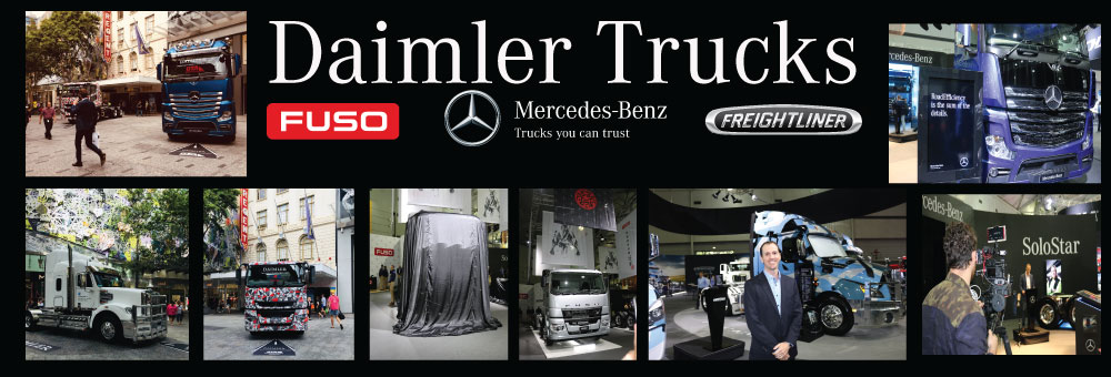 DAIMLER TRUCKS STAR AT THE BRISBANE TRUCK SHOW