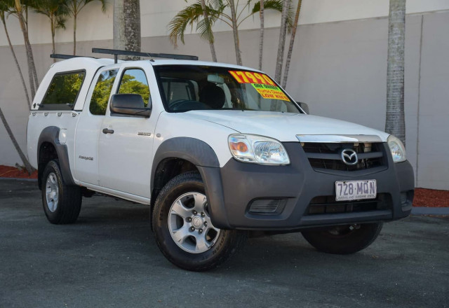 2009 Mazda BT-50 UN DX+ Cab chassis