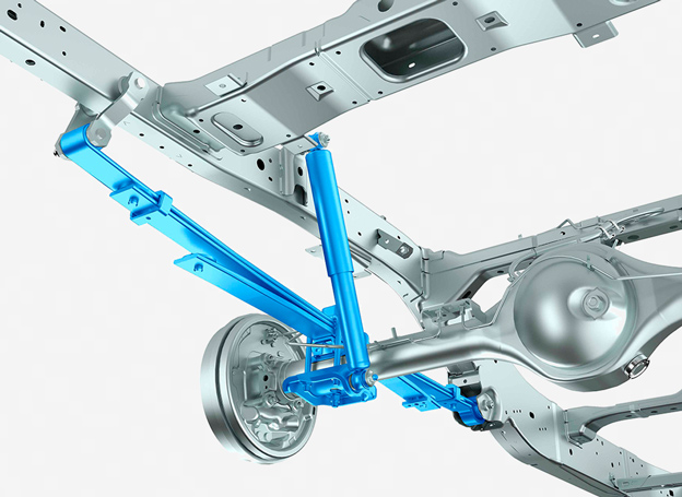 Rear Leaf Suspension Image