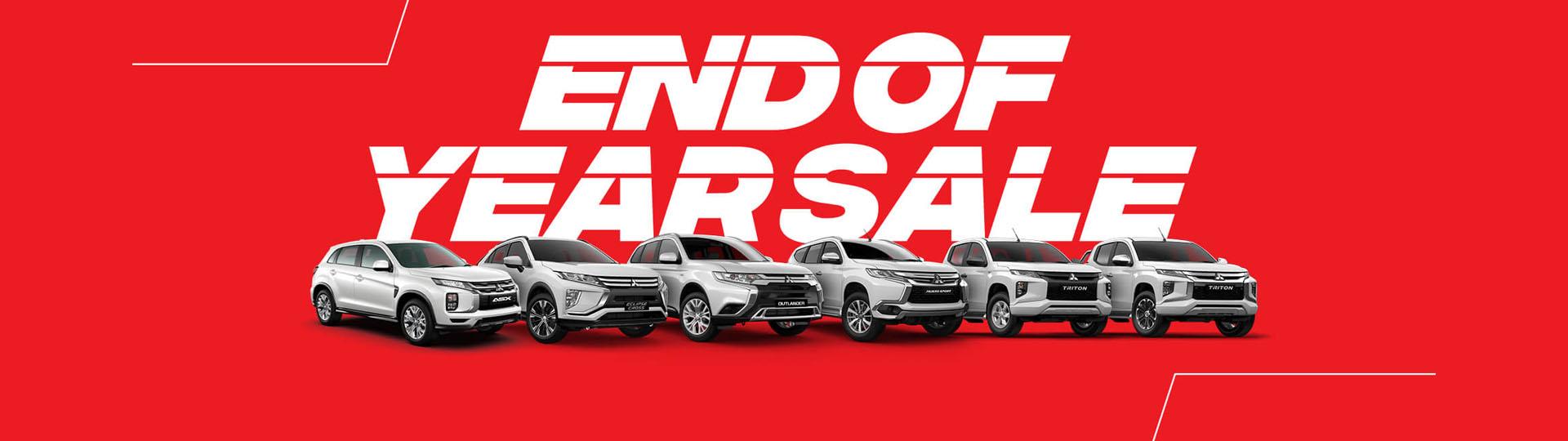 Mitsubishi Run Out Sale