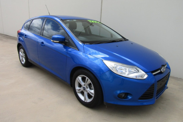 2013 Ford Focus LW MKII TREND Hatchback