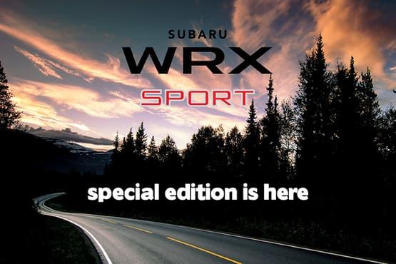 WRX 2.0 Premium AWD Sport<sup>1</sup>