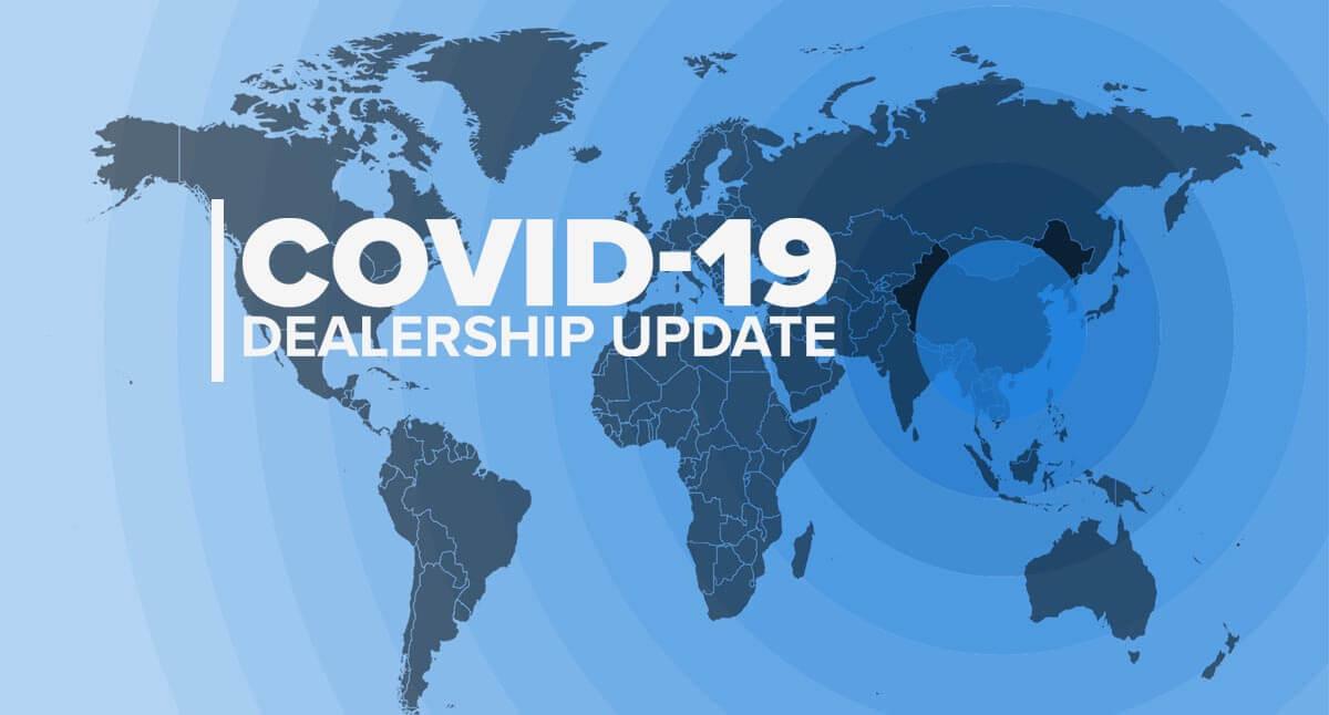 COVID-19 Dealer Update
