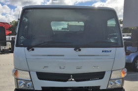 2017 Fuso Canter 515 City Cab Tray back