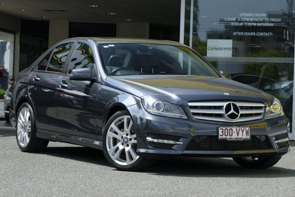 Mercedes-Benz C200 CDI 7G-Tronic + W204 MY13