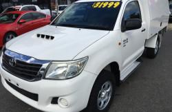 2012 Toyota HiLux KUN26R Turbo SR 4x4 s/cb w/body Image 3