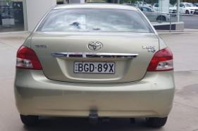 2008 Toyota Yaris NCP93R YRS Sedan Image 4