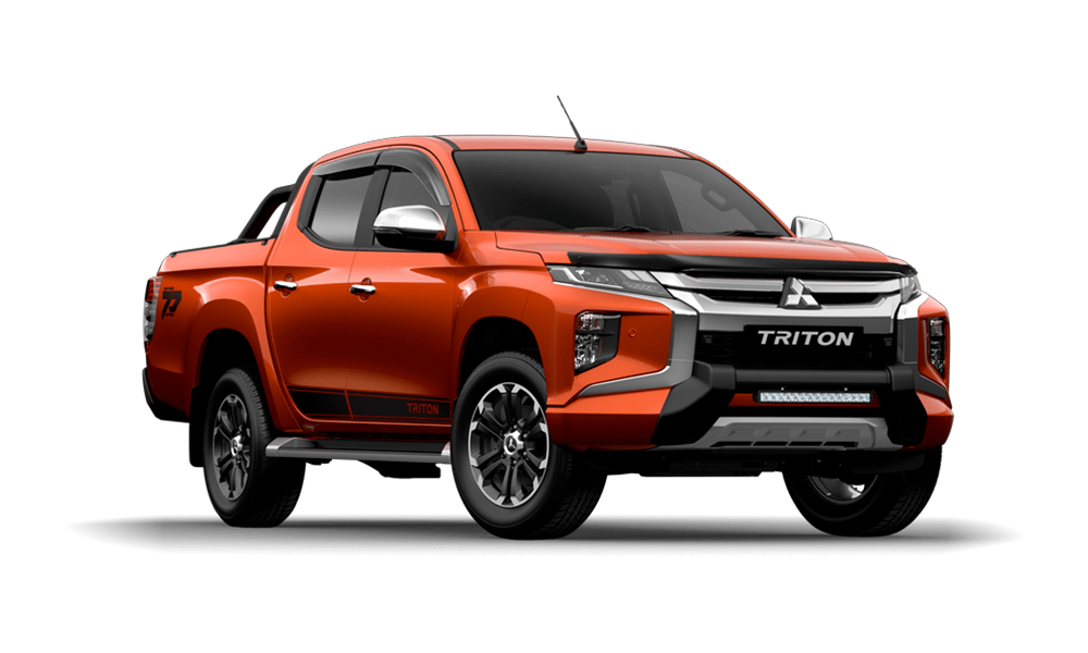 2020 Mitsubishi Triton MR Toby Price Edition Double Cab Pick Up 4WD Cab chassis