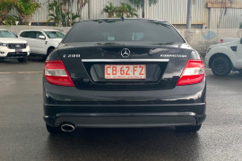 2009 Mercedes-Benz C-class W204 C200 Kompr Avantgarde Sedan