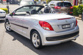 2011 Peugeot 207 A7 Series II MY10 CC Cabriolet Image 5