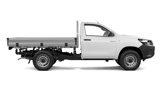 WorkMate 4x2 Hi-Rider Single-Cab Cab-Chassis