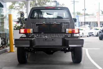 2021 Mazda BT-50 TF XT 4x4 Single Cab Chassis Cab chassis image 5