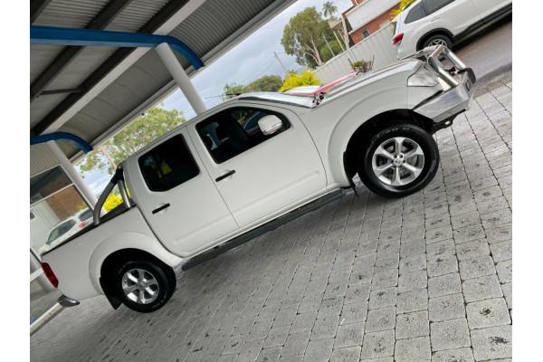 2012 Nissan Navara ST Dual cab utility Image 5
