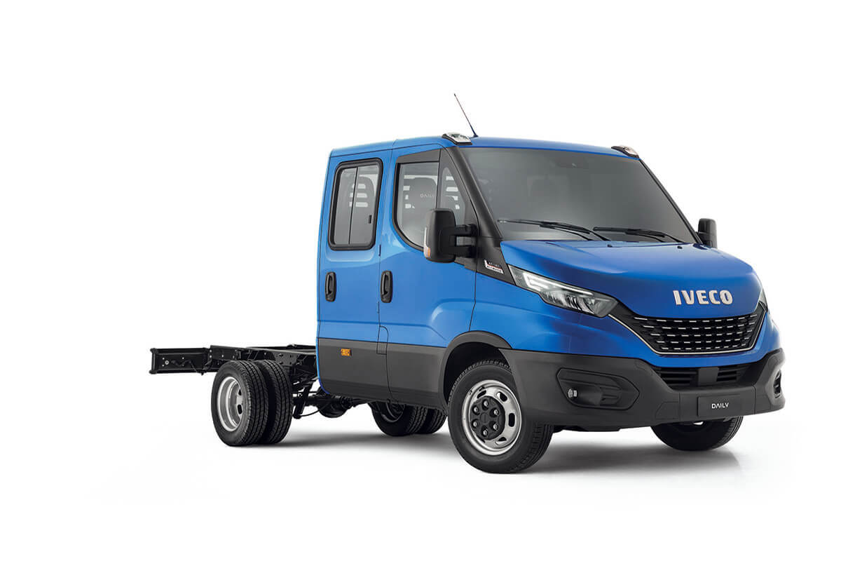 Daily E6 Cab Chassis DUAL CABS